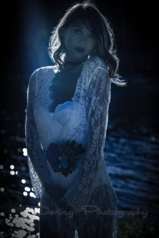 Girl in 'moonlight'