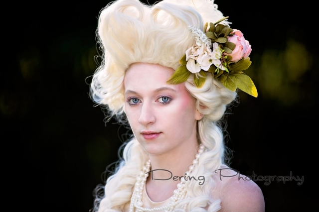 Marie Antoinette Themed session