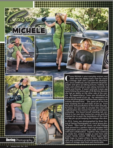Published Pin up